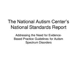 nationalautismcenter'snation